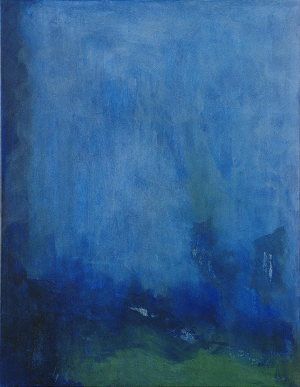 Am Gewitterwind - Acrylpigment auf Leinwand - von Judith Kaffka - kunstpunkt-bern.ch