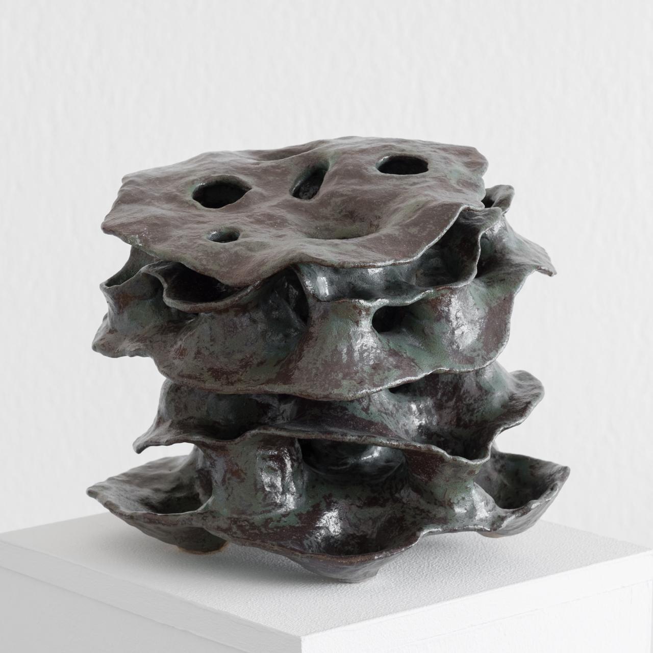 Skulptur Porifera im Atelier kunstpunkt-bern von Judith Kaffka