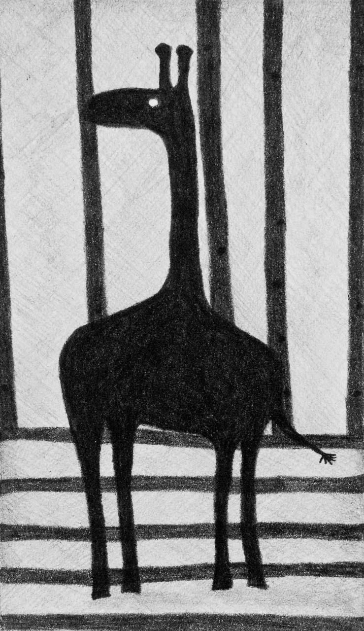 Neugierig - Grafitstift auf Papier - von Judith Kaffka - kunstpunkt-bern.ch
